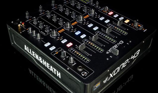 Allen & Heath launches no-frills Xone:43 mixer
