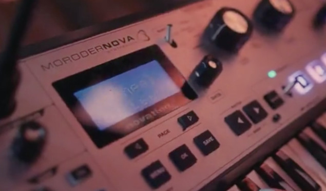 Does Giorgio Moroder have his own synth on the way?