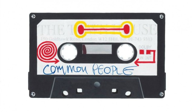 The Specials' Horace Panter to exhibit his huge paintings of mixtapes and demo cassettes
