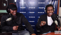 A$AP Rocky Freestyles on Sway in the Morning