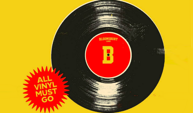 Every single vinyl record played at this clubnight will be given away free