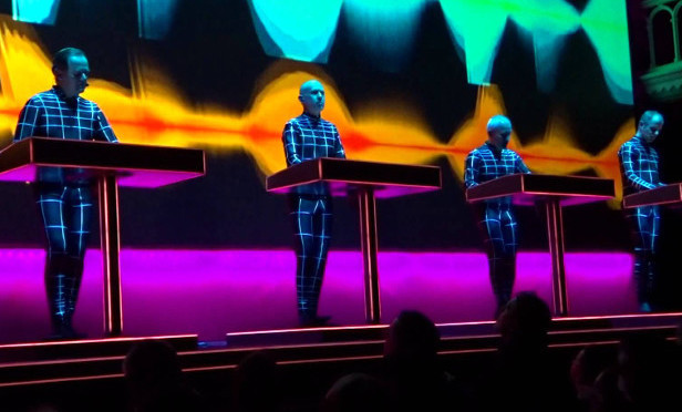 Kraftwerk bring their 3D concert tour to Germany