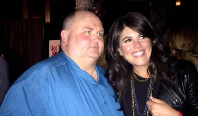 'Dancing Man' got his party in LA and Moby and Monica Lewinsky showed up