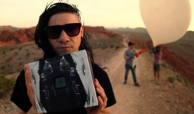 Skrillex sent a camera-equipped satellite, named after an Aphex Twin song, into space