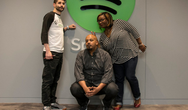 Spotify has hired three music experts to battle Apple's Zane Lowe