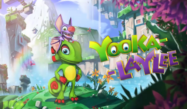 Donkey Kong Country creators Kickstart Yooka-Laylee featuring game music legends David Wise and Grant Kirkhope