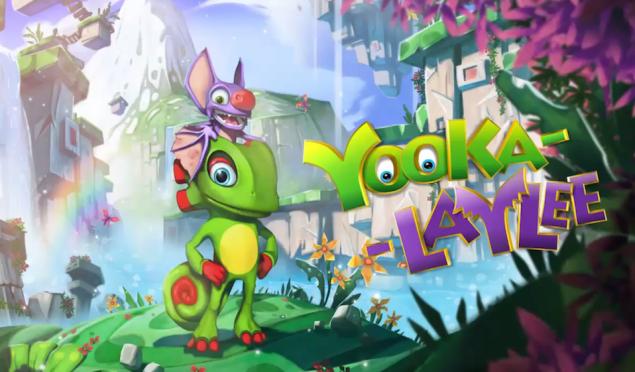 Donkey Kong Country creators Kickstart Yooka-Laylee featuring game music legends David Wise and Grant Kirkhope