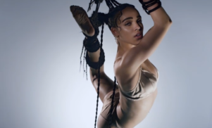 Watch FKA Twigs suspend herself in the video for 'Pendulum'