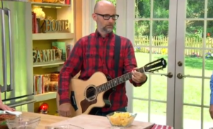 Moby to open vegan restaurant in LA, watch him cook chili and cover Johnny Cash on the Hallmark Channel