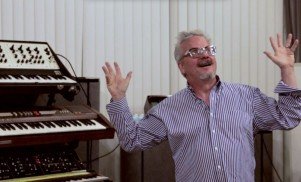 Watch Devo genius Mark Mothersbaugh show off his whopping synthesizer collection