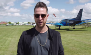 Watch Jackmaster go skydiving