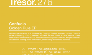 Tresor pulls Confucio's Golden Rule EP over plagiarism