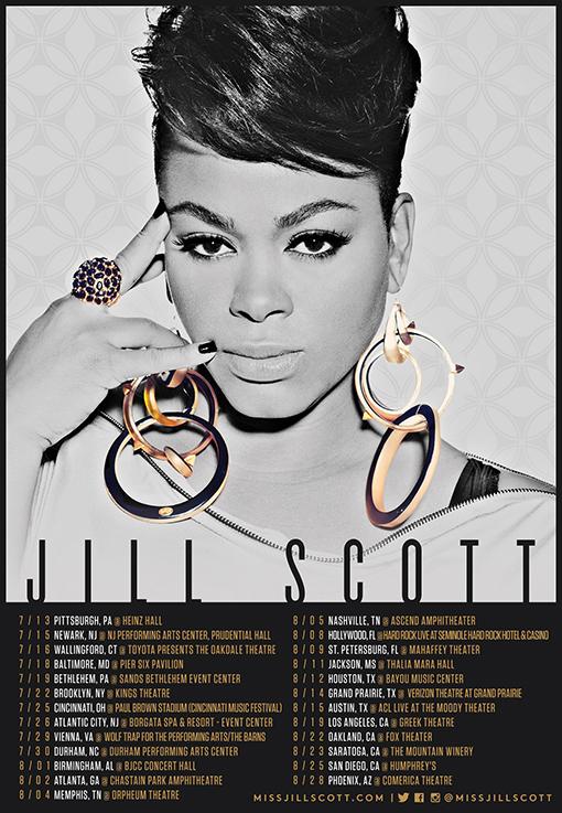 Jill Scott announces new album and tour