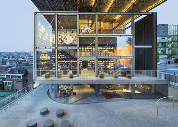 Huge vinyl library opens in South Korea housing 10,000 records
