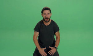 Watch Shia LaBeouf drop a freestyle — with stolen bars