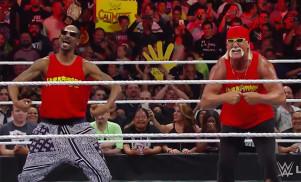Snoop Dogg teams with Hulk Hogan on WWE Raw