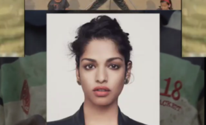 "M.I.A. announces audiovisual project ""Matahdatah Scroll 01 Broader Than a Border"""