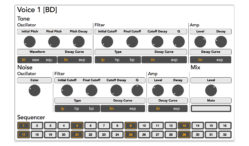 This Roland-inspired drum machine lets you jam in your browser