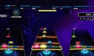 Rock Band shows off a revamped interface and songs by St. Vincent, The Cure, and more