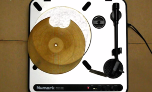 Watch a tortilla get turned into a playable record
