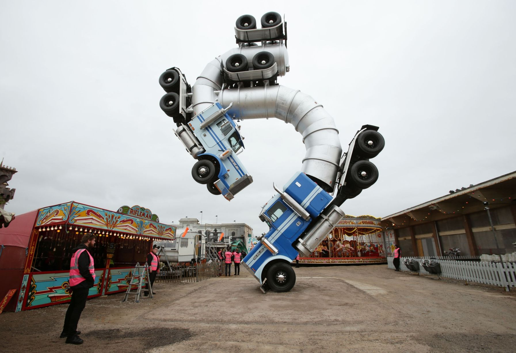 Run The Jewels and Massive Attack to play Banksy's Dismaland