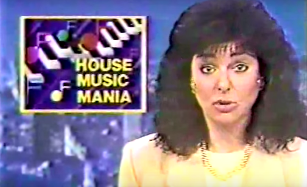 House music makes news for the first time in video from 1986 for House music 1986
