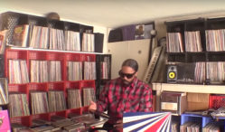 Watch Dam-Funk take you through his record collection
