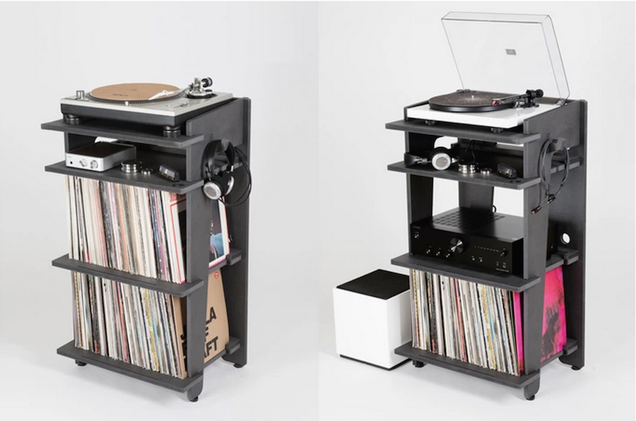 Turntable lab have designed the ultimate record player stand for Turntable furniture