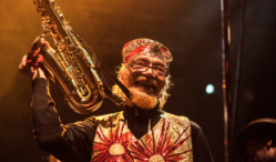 """Where can you go if you're in a box?"": Marshall Allen of the Sun Ra Arkestra interviewed"