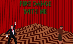 Play Twin Peaks video game Fire Dance With Me