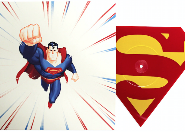 Mondo To Release Superman Music On Quot S Quot Shaped Vinyl