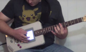Ingenious inventor creates Game Boy guitar