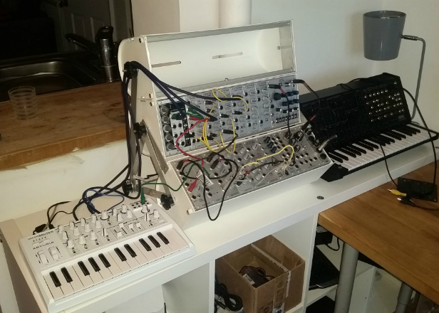 how to make modular synthesizer from scratch