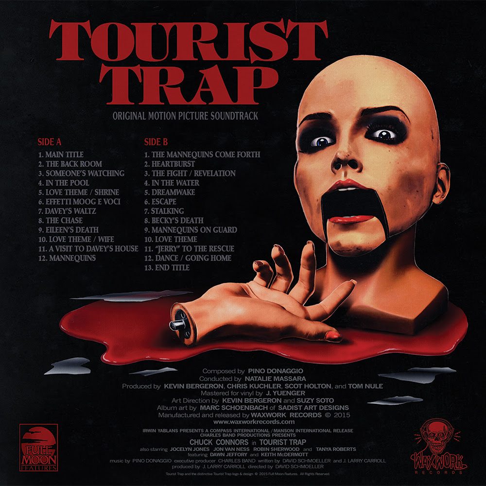 Pino Donaggio Tourist Trap Original Motion Picture Soundtrack