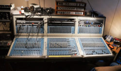 Buy Basic Channel-founder Moritz von Oswald's mixing board on eBay