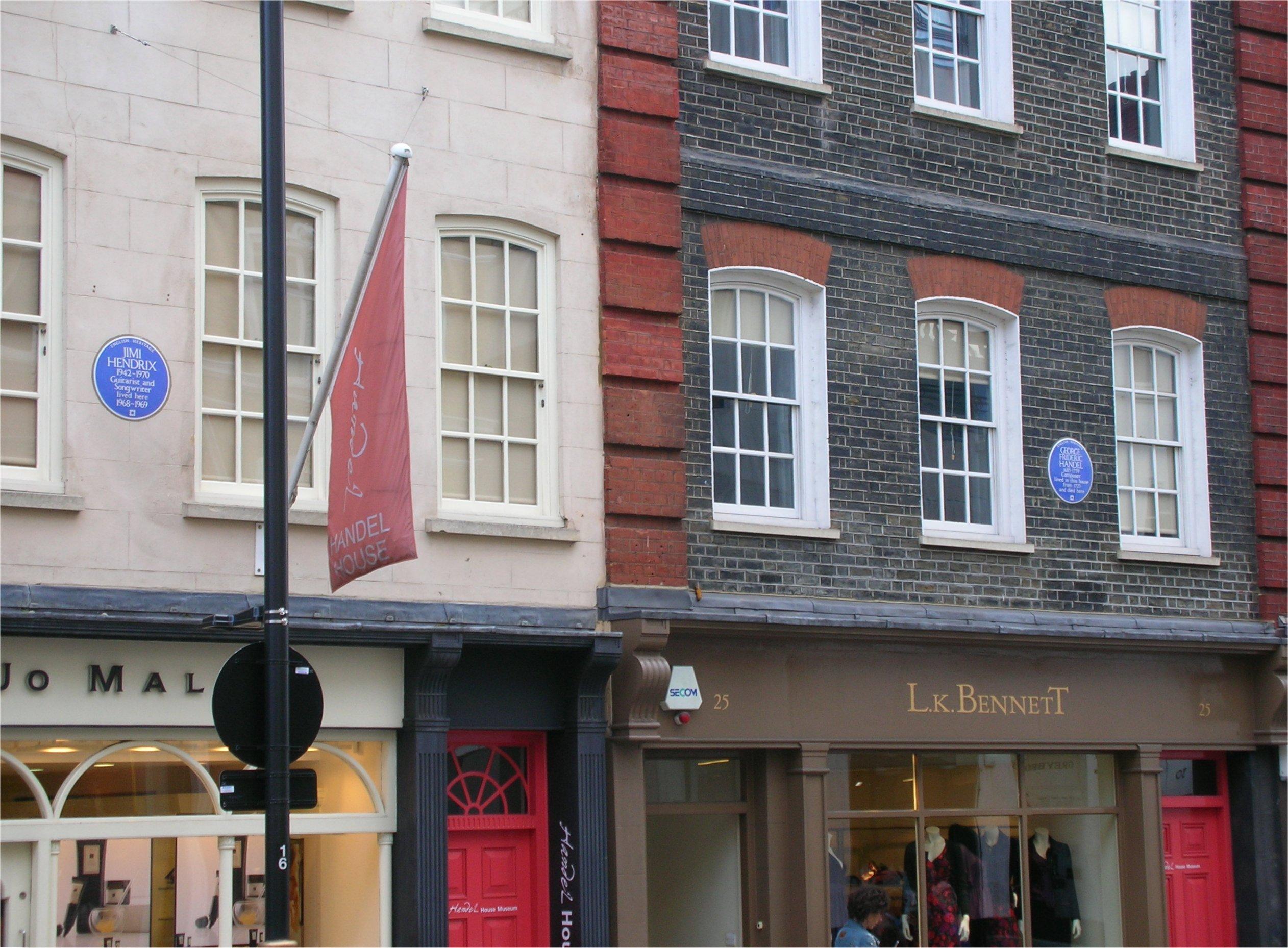 Hendrix_and_Handel_houses,_Brook_Street