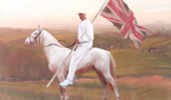 Artist paints grime MCs into historical British scenes
