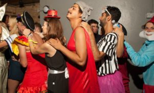 The dress Seth Troxler wore at Fabric's 14th birthday is up for auction