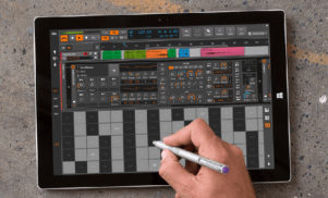 Bitwig Studio's latest update turns it into a full multi-touch DAW