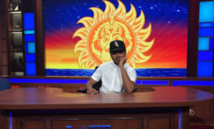 Chance the Rapper debuts 'Angels' on The Late Show with Stephen Colbert