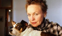 Laurie Anderson to release Heart Of A Dog soundtrack featuring Lou Reed