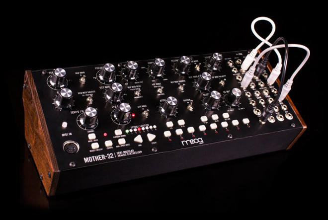 Moog mother 32 patch bay studio twitter