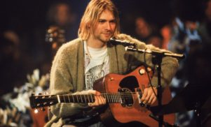 Kurt Cobain's MTV Unplugged cardigan in auction of bizarre celebrity memorabilia