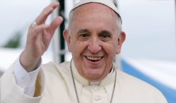 Stream Pope Francis' prog rock-infused album