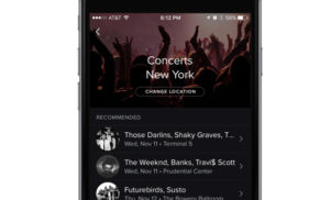 Spotify will now recommend concerts for you