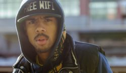 Vic Mensa clashes with police in Chicago protest