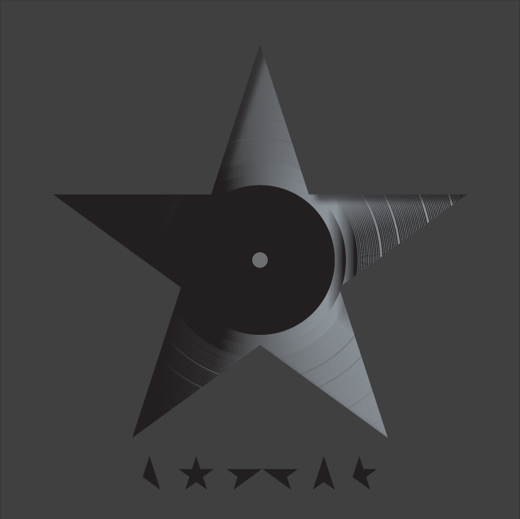 designer reveals meaning behind david bowie 39 s blackstar cover. Black Bedroom Furniture Sets. Home Design Ideas