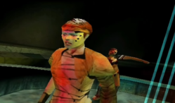 Revisit polygonal David Bowie performing in this Sega Dreamcast game