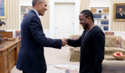 Kendrick Lamar talks White House meeting with Obama in mentoring PSA