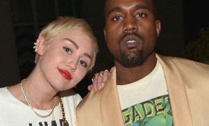 Hear Miley Cyrus' remix of Kanye West's 'Black Skinhead'